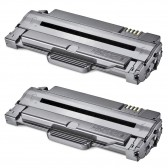 2 Compatible Laser Toners for the Samsung MLT-D105L - 5000 Page Yield