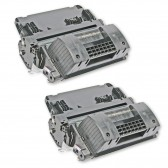 Compatible HP Set of 2 Black 64X / CC364X High Yield Laser Toner Cartridges - 48000 Page Yield