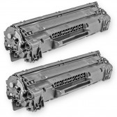 Compatible HP CE285A - (HP 85A) (Set of 2-Pack) Black Laser Toner Cartridge  - 3200 Page Yield