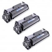 Compatible Canon 104 (FX9/FX10) Set of 3 Black Laser Toner Cartridges - 6000 Page Yield