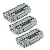 3 HP Compatible CE505A Toners - 6900 Page Yield