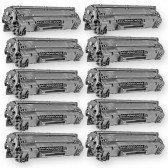 Compatible HP CE278A - (HP 78A) (Set of 10-Pack) Black Laser Toner Cartridge - 21000 Page Yield