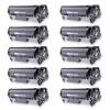 Compatible Canon 104 (FX9/FX10) Set of 10 Black Laser Toner Cartridges - 20000 Page Yield