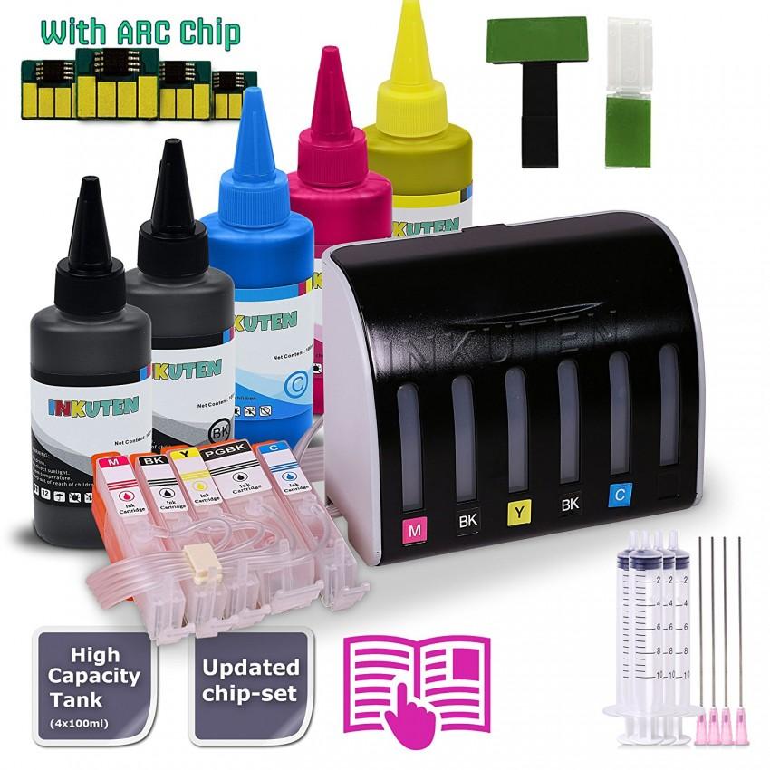 Bulk Refill INK Bottles For Canon PGI-250 CLI-251 PIXMA MG5520 MG5522