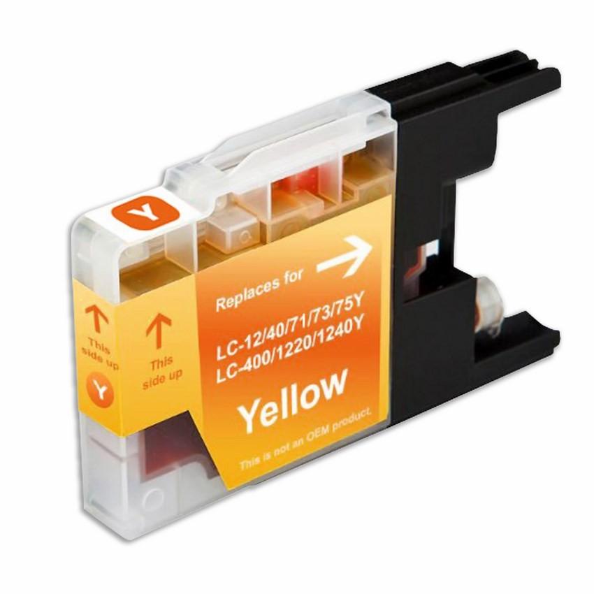 LC71Y SuppliesOutlet Compatible Ink Cartridge Replacement for Brother LC75 LC75M LC75C LC75Y C,M,Y,K,4 Pack LC71BK LC71M LC75BK LC71C