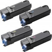 Replacement Xerox Phaser 6130 Set of 4 High Capacity Laser Toner Cartridges