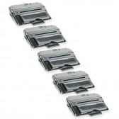 5 Compatible Dell 310-7945 (PF658) Laser Toner Cartridges (1815dn) - 30000 Page Yield