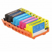 Replacement HP 564XL Set of 8 Inkjet Cartridges: 2 Black CN684WN, 2 CB323WN, 2 Magenta CB324WN, 2 Yellow CB325WN