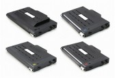 Replacement Xerox Phaser 6100 Set of 4 High Capacity Laser Toner Cartridges