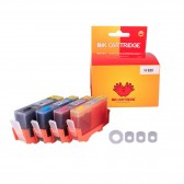 4 Refillable Cartridges for HP 920, HP 920XL, Auto Reset Chips (ARC)
