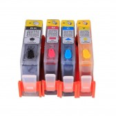 Refillable Ink Cartridges for HP 564 HP564XL with Auto Reset Chips