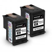 2 Pack Hp Deskjet 3730 Black High Yield Ink Cartridges