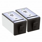 Replacement For HP 934XL C2P23AN (2-Pack) High Yield Black Inkjet Cartridge