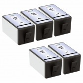 Replacement For HP 934XL C2P23AN (5-Pack) High Yield Black Inkjet Cartridge