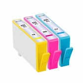 Ink Cartridge Replacement For HP 935XL (3-Pack) - 1 Cyan, 1 Magenta, 1 Yellow