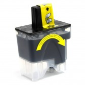 Brother Compatible LC41Bk Black Ink cartridge. - 500 Page Yield