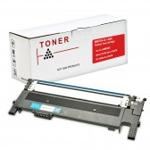 Compatible Alternative to Samsung CLT-C406S Cyan Laser Toner Cartridge (1K Page Yield)