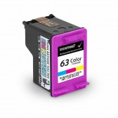 Replacement Ink Cartridge for HP 63 (F6U61AN) Color