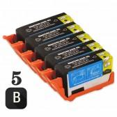 5 PACK HP CD975AN (HP 920XL High Yield Black) Ink Cartridge