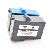 Lexmark 82 18L0032 + Lexmark 83 18L0042 Compatible - 1 Black & 1 Color High Capacity Ink Cartridges