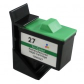 Lexmark Compatible 10N0027 (#27) Color Ink Cartridge - 275 Page Yield