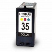 Remanufatured Lexmark 18C0035 (#35) High Yield Color Ink Cartridge