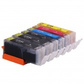 Compatible Canon PGI-270XL & CLI-271XL: 2 Large Black, 1 Small Black, 1 Cyan, 1 Yellow, 1 Magenta, 6-Pack