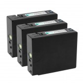 3 Pack Compatible Canon PGI-2200XL (9255B001) High Yield Black Ink