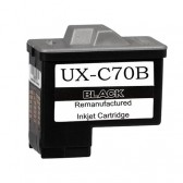 Sharp UX-C70B Compatible Black Ink Cartridges - 500 Page Yield