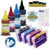 4 Refillable Cartridges for EPSON 288 T288 T288XL (Pre-filled) with 4x100ml Dye ink - for use in Expression XP-330 XP-430 XP-434