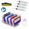 Edible Refillable Ink Cartridges for EPSON 288 T288 288XL Expression XP-330 Expression XP-430 Expression XP-434 printer 288XL cartridges (Cake Printing Special Edible Ink)