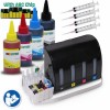 CIS CISS Continuous Ink Supply System For Epson 252 #252 T0252 T252 with 4x100ml Dye Ink Bottle Set