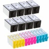 Ink Cartridge Replacement For HP 934XL & 935XL (20-Pack) - 8 Black, 4 Cyan, 4 Magenta, 4 Yellow